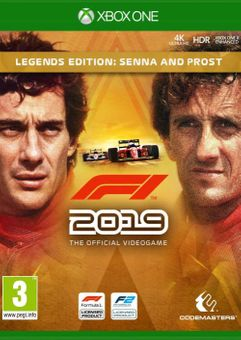 F1 2019 Legends Edition Senna and Prost Xbox One (UK)