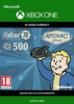Fallout 76 - 500 Atoms Xbox One