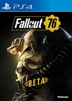 Fallout 76 BETA PS4