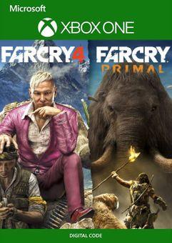 Far Cry 4 + Far Cry Primal Bundle Xbox One (UK)