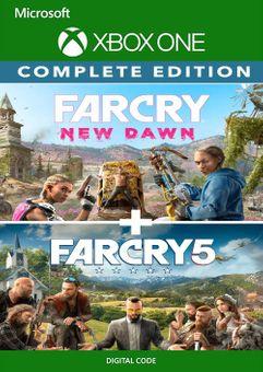 Far Cry 5 + Far Cry New Dawn Deluxe Edition Bundle Xbox One (UK)