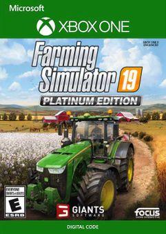 Farming Simulator 19 - Platinum Edition Xbox One (US)