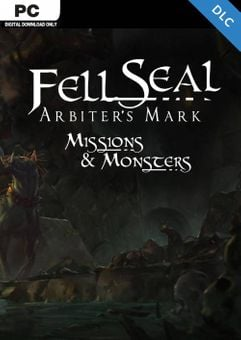 Fell Seal Arbiters Mark - Missions and Monsters PC - DLC