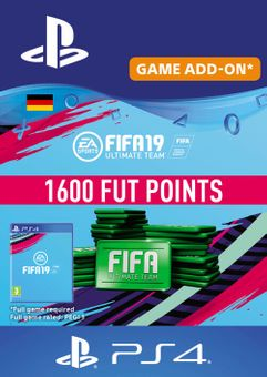 Fifa 19 - 1600 FUT Points PS4 (Germany)