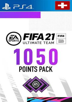 FIFA 21 Ultimate Team 1050 Points Pack PS4 (Switzerland)