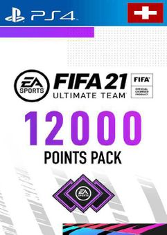 FIFA 21 Ultimate Team 12000 Points Pack PS4 (Switzerland)