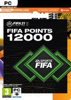 FIFA 21 Ultimate Team 12000 Points Pack PC