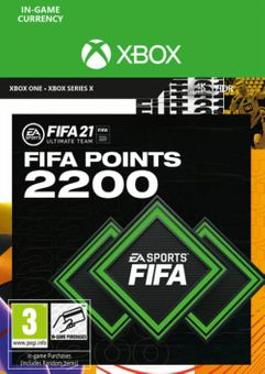 FIFA 21 Ultimate Team 2200 Points Pack Xbox One / Xbox Series X