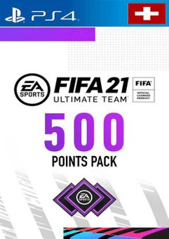 FIFA 21 Ultimate Team 500 Points Pack PS4 (Switzerland)