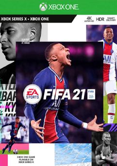 FIFA 21 + 500 FUT Points Xbox One/Xbox Series X|S (UK)