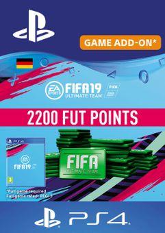 Fifa 19 - 2200 FUT Points PS4 (Germany)