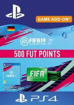 Fifa 19 - 500 FUT Points PS4 (Germany)