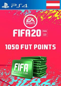 1050 FIFA 20 Ultimate Team Points PS4 (Austria)