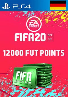 12000 FIFA 20 Ultimate Team Points PS4 (Germany)