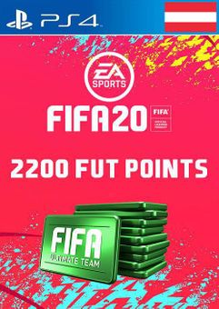 2200 FIFA 20 Ultimate Team Points PS4 (Austria)