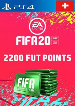 2200 FIFA 20 Ultimate Team Points PS4 (Switzerland)