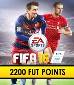 FIFA 16 PC 2200 FUT Points