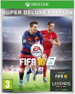 FIFA 16 Super Deluxe Edition Xbox One - Digital Code
