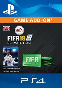FIFA 18 Ultimate Team Pack PS4