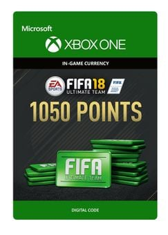 Fifa 18 - 1050 FUT Points (Xbox One)