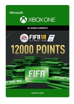 Fifa 18 - 12000 FUT Points (Xbox One)