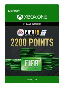 Fifa 18 - 2200 FUT Points (Xbox One)