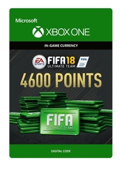 Fifa 18 - 4600 FUT Points (Xbox One)