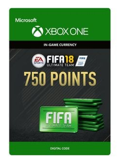Fifa 18 - 750 FUT Points (Xbox One)