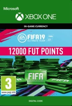 Fifa 19 - 12000 FUT Points (Xbox One)