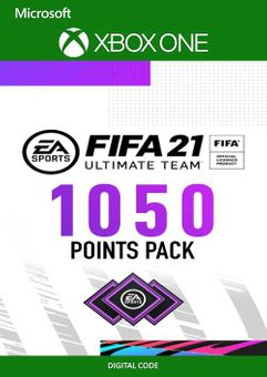 FIFA 21 Ultimate Team 1050 Points Pack Xbox One