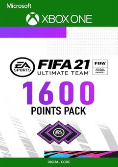 FIFA 21 Ultimate Team 1600 Points Pack Xbox One