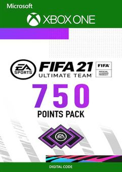 FIFA 21 Ultimate Team 750 Points Pack Xbox One