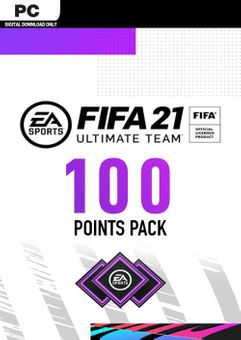 FIFA 21 Ultimate Team 100 Points Pack PC