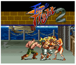 Final Fight 2 3DS - Game Code (ENG)