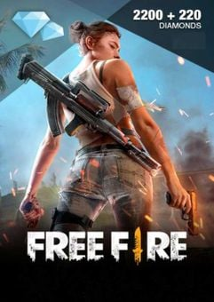 Free Fire 2200 + 220 Diamonds