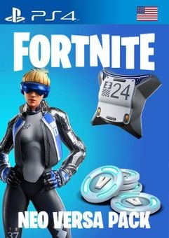 Fortnite Neo Versa + 2000 V-Bucks PS4 (US)