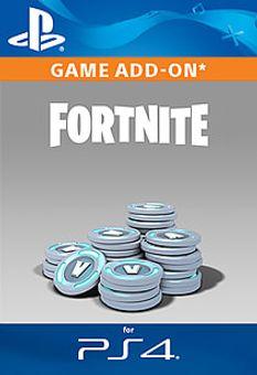 Fortnite - 6,000 (+1,500 Bonus) V-Bucks PS4 (UK)