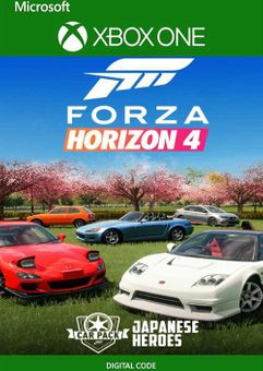 Forza Horizon 4 Japanese Heroes Car Pack Xbox One (UK)