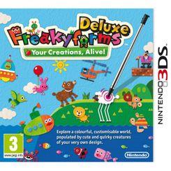 Freakyforms Deluxe 3DS - Game Code