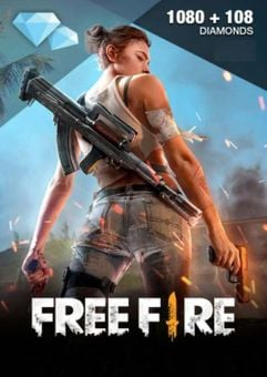 Free Fire 1080 + 108 Diamonds