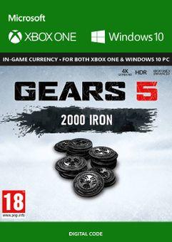 Gears 5: 2000 Iron + 250 Bonus Iron Xbox One