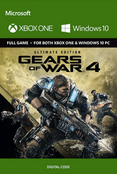 Gears of War 4 Ultimate Edition Xbox One/PC - Digital Code