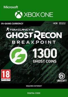 Ghost Recon Breakpoint: 1300 Ghost Coins Xbox One