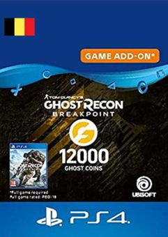 Ghost Recon Breakpoint - 12000 Ghost Coins PS4 (Belgium)