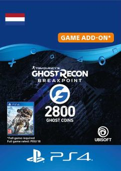 Ghost Recon Breakpoint - 2800 Ghost Coins PS4 (Netherlands)