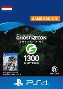 Ghost Recon Breakpoint - 1300 Ghost Coins PS4 (Netherlands)