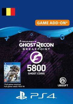 Ghost Recon Breakpoint - 5800 Ghost Coins PS4 (Belgium)