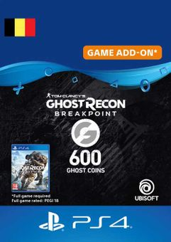 Ghost Recon Breakpoint - 600 Ghost Coins PS4 (Belgium)