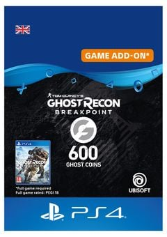 Ghost Recon Breakpoint - 600 Ghost Coins PS4 (Netherlands)