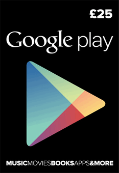 Google Play Gift Card £25 GBP